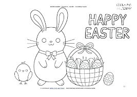 Disney Junior Easter Coloring Pages Printable Sheets For Adults