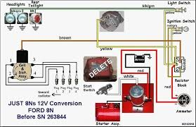 wiring diagram for ford 8n 12 volt readingrat net