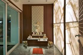 Mandir Designs Living Room Minimalist Bungalow In India Idesignarch Interior Design
