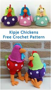 Crochet Chicken Pattern Unique Decorating Design