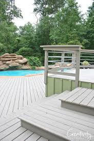 pool deck paint colorsDecking Bring New Life To Old Wood With Behr Deckover Colors