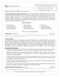 Resume Buzz Words Change Management Cover Letter Project Management