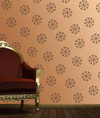 Damask wall stencil image collections home wall decoration ideas damask wall  stencil choice image home wall