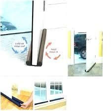 sliding glass door draft stopper guard first slide blocker sliding glass door draft stopper