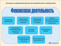 Презентация на тему Тема Финансы предприятий и финансовый  3 Основные направления финансовой деятельности предприятия