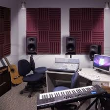 acoustic treatments wedge soundproof foam recording studio home
