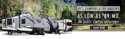 rvs cammpers toy haulers