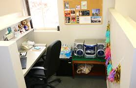 Welcome to my new home away from home- my office cubicle! Well- technically  speaking the place that I spend the most time at my new job of course is  the ...