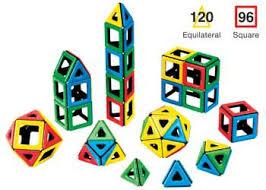 polydron magnetic maths set 1