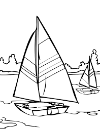 Small Picture Sailing Coloring Page Handipoints