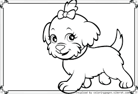 Free Dog Colouring Pages Print Hot Coloring Husky Puppy To Dalmatian