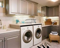kitchen laundry room cabinets laundry. Open Concept Laundry Room Design With Kitchen Cabinet Cabinets