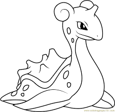 Small Picture Lapras Pokemon Coloring Page Free Pokmon Coloring Pages