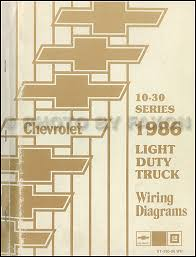 1986 chevrolet ck wiring diagram original pickup suburban blazer 1982 chevy truck wiring diagram at 1986 Chevy K10 Wiring Diagram Of Truck