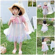 IVN53 Size70-100 (4-16kg) Đầm cho bé gái 1 tuổi đến 3 tuổi Freeship Hàng  Quảng Châu Thời trang trẻ em giá cạnh tranh