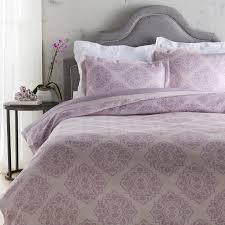 unique light purple bedding set cotton duvet cover bed quilt