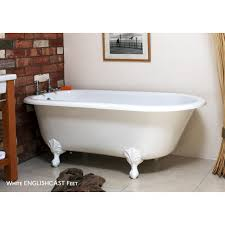 wes clawfoot bathtub by victoria and albert free modern bathroom