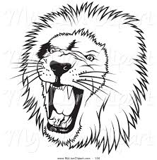 lion face black and white clipart. Simple Clipart Lion20clipart20black20and20white For Lion Face Black And White Clipart