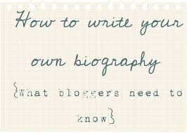 write your own bio what bloggers need to know jennifer rizzo how to write your own biography what bloggers and authors need to know
