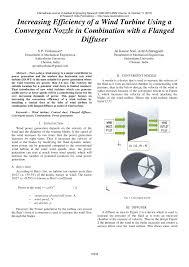 Limiting Factors In Turbine Design Pdf Increasing Efficiency Of A Wind Turbine Using A