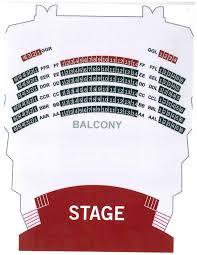 Fulton Theater Seating Chart Georgia Ensemble Theatre Seating Diagram