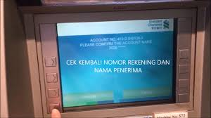 how to deposit money at atm standard chartered bank indonesian