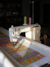 58 best DIY quilting frame for home sewing machines images on ... & juki - I like the frame! thanks : ) its a New English Quilter frame · Quilting  FramesDiy QuiltingLongarm ... Adamdwight.com