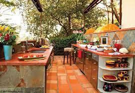 Spanish Style Outdoor Kitchen Outdoor Kitchen Countertops Outdoor Kitchen Cabinets Concrete Outdoor Kitchen