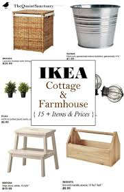 The Quaint Sanctuary: { IKEA Guide to Farmhouse & Cottage Decor on the  Cheap!