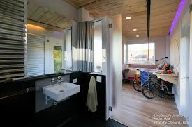 tiny house vermont. Wheel Pad Tiny House - LineSync Archtecture Vermont Bathroom 1 Humble Homes