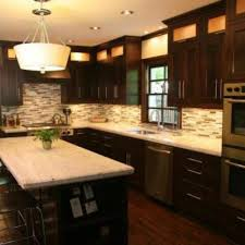 Dark Kitchen Cabinets Adorable Hand Made Mission Style Solid Oak Kitchen Cabinets By R Squared