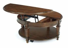 round lift top coffee tables table steve silver nelson cocktail with casters cherry