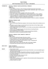 Sample Resume For Physical Therapist Resume Sample