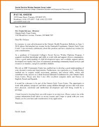 Social Work Cover Letter Social Worker Cover Letter Example Jobsxs