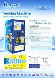 Vending Machine Brochure Fascinating Water Vending Machine Buy Water Vending MachineVending Machine