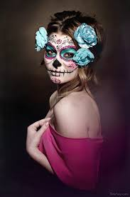 sugar skull makeup by bastix step 1 apply how