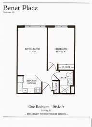 1 Bedroom Floor Plans Design Fantastic 1 Bedroom