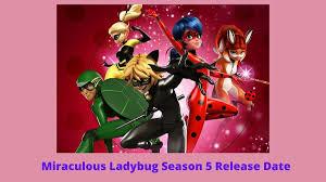 miraculous ladybug season 5 coming out