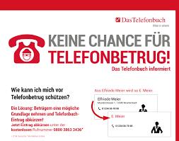Keine Chance für Telefonbetrug! Das Telefonbuch gibt präventive  Verbrauchertipps - Newsroom von Das Telefonbuch