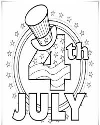 Small Picture 4th Of JULY Coloring Pages Printable And 4Th July diaetme