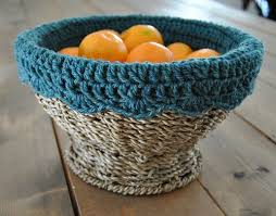Free Crochet Basket Patterns Interesting Ravelry Crochet Basket Liner Pattern By Heather McMichael