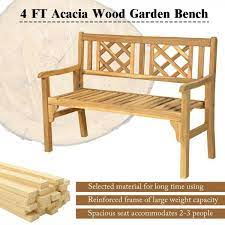 person wood outdoor bench