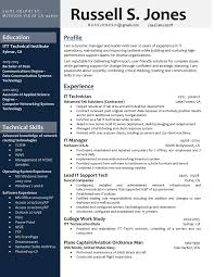 Professional Clean Navy Blue And Gray Resume Buy The Template For