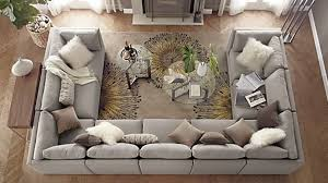 how to master u shaped sofa concept has been por introduction of modular design whole family to spread out fortably chaise sectional