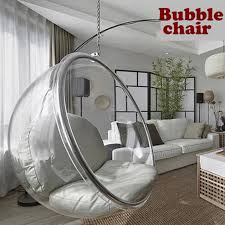 Space Chair,bubble chair,indoor swing chair,space sofa,transparent sofa,Hanging  Bubble Chair+Acrylic Material+Transparent Color-in Living Room Sofas from  ...