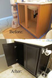 Oak Bathroom Storage Cabinet Bathroom 2017 Furniture Staining Black Color Oak Bathroom