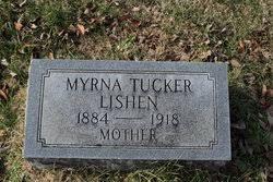 Myrna Pearl Tucker Lishen (1884-1918) - Find A Grave Memorial
