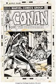 Conan the Barbarian #23 (Marvel, 1973), in Heritage Auctions Previews's  7242 Signature Comic Art Auction April 1 - 4, 2021 Comic Art Gallery Room