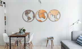 map wooden wold map wall art wood map