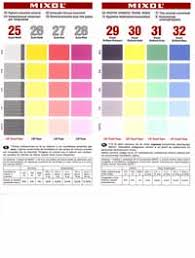 Mixol Tint Color Chart Tints All Color Chart Related Keywords Suggestions Tints